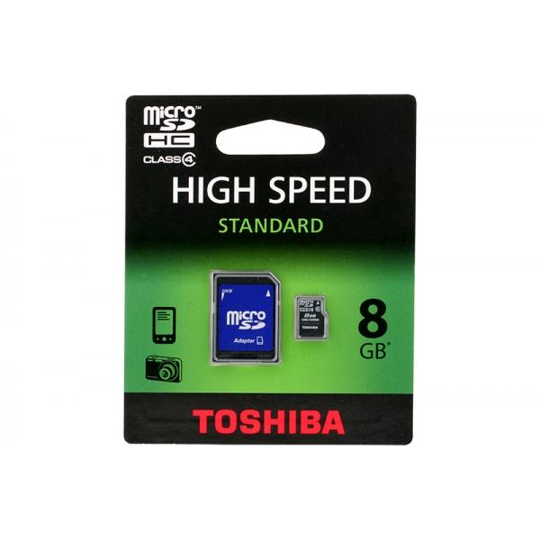 Card Toshiba Micro SD Clasa4 08GB