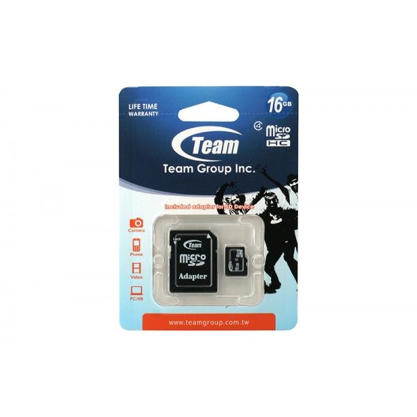 Card Team Micro SD Clasa4 16GB