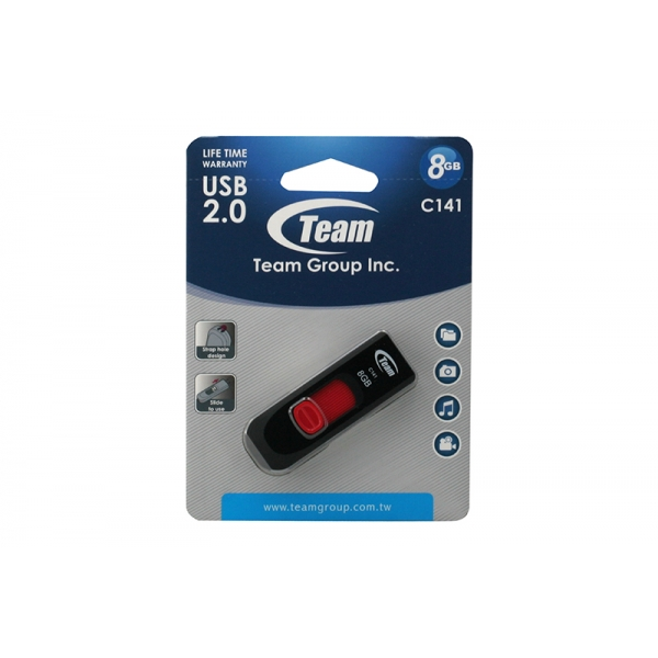 USB Team C141 08GB USB2
