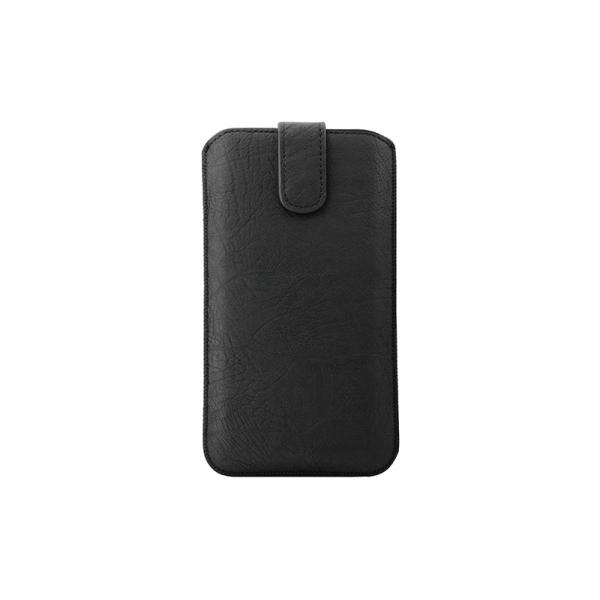 Toc Rustic Samsung Galaxy Note 2/3/4 Negru