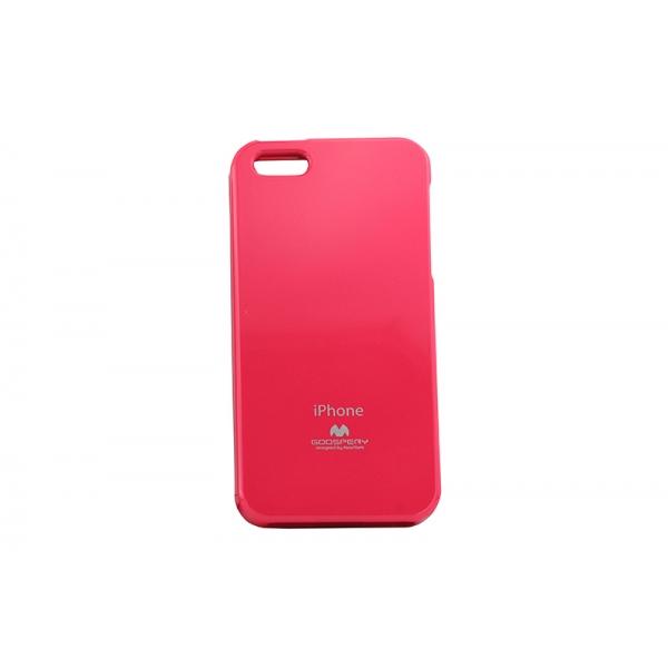 Husa My-Jelly iPHONE 5/5S Roz