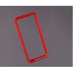 Bumper husa protectie iPhone 5C margine silicon ROSU