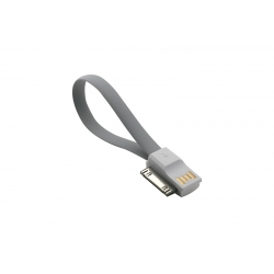 USB Cablu My-Magnet compatibil cu iPHONE 4 Gri