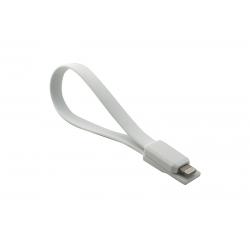 USB Cablu My-Magnet compatibil cu iPHONE 5/6 Alb