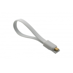 USB Cablu My-Magnet Micro USB Alb