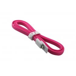 USB Cablu My-Trim compatibil cu iPHONE 5/6 Roz