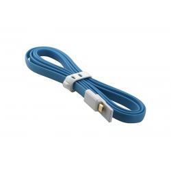 USB Cablu My-Trim Micro USB Albastru