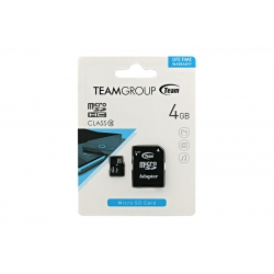 Card Team Micro SD Clasa10 04GB