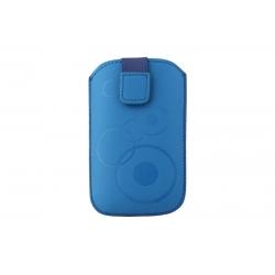 Toc Slim iPHONE 4/Samsung Ace Albastru