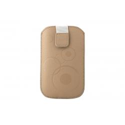 Toc Slim iPHONE 4/Samsung Ace Cappucino