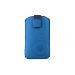 Toc Slim iPHONE 5/5S/5C Albastru