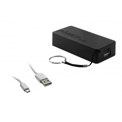 Acumulator Extern 5000 mAh Negru (micro USB)