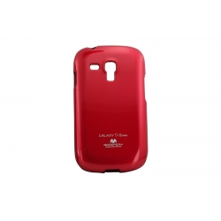 Husa My-Jelly Samsung Galaxy S3 Mini I8190 Rosu