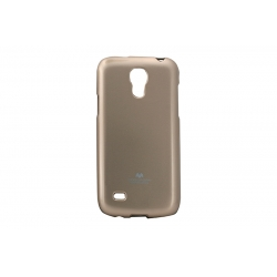 Husa My-Jelly Samsung Galaxy S4 Mini I9190 Auriu