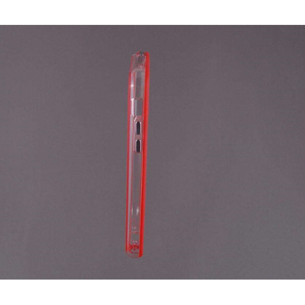 Bumper husa protectie iPhone 5C margine silicon ROSU 0