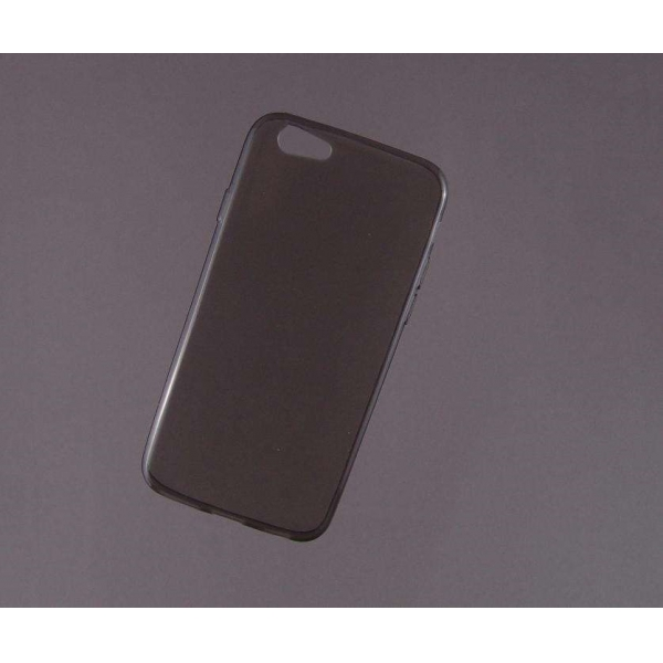 HUSA bumper iPhone 6 din gel siliconic TRANSPARENT fumuriu 2