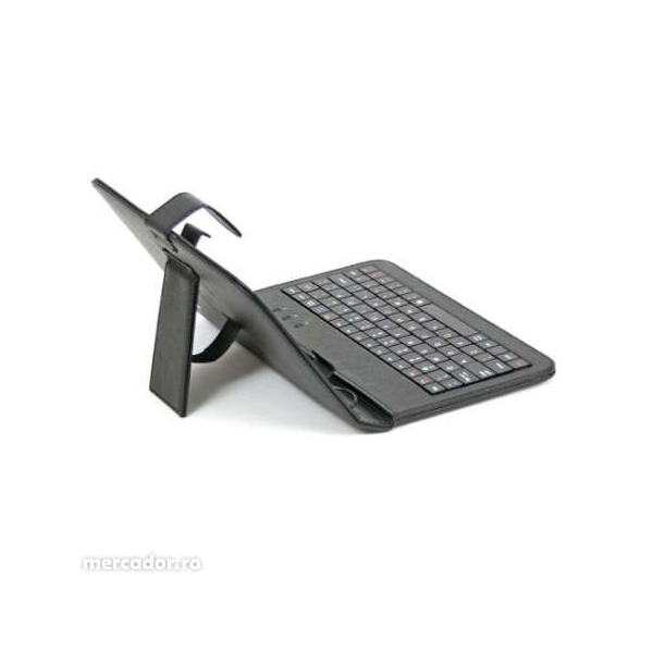 "Husa Tableta universala 8"" cu tastatura 0"