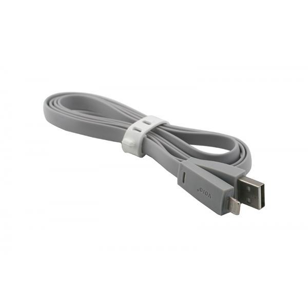 USB Cablu My-Basic iPhone 5/6 Gri