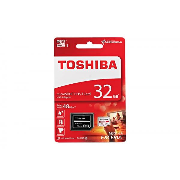 Card Toshiba Micro SD Clasa10 32GB  0