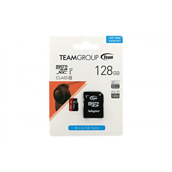 Card Team Micro SD Clasa10 128GB  0