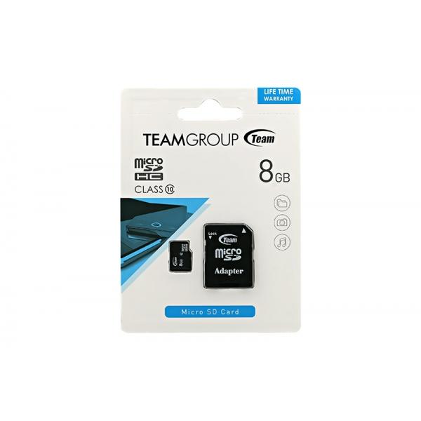 Card Team Micro SD Clasa10 08GB  0