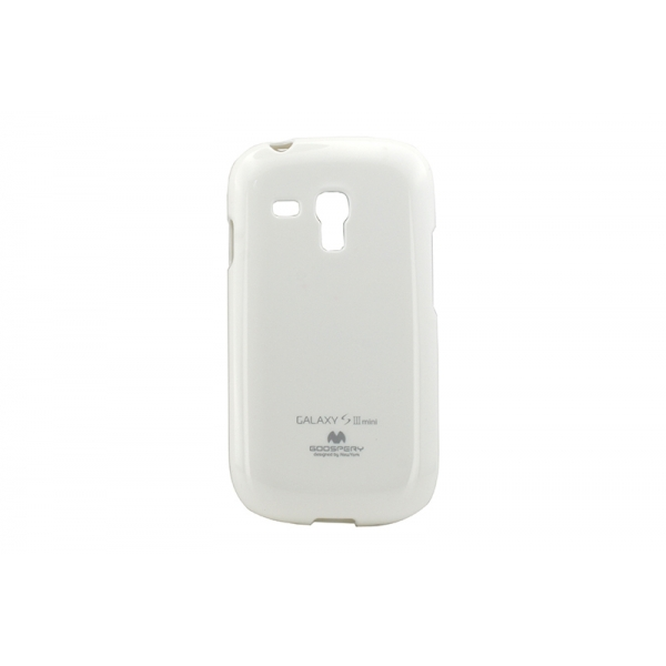 Husa My-Jelly Samsung Galaxy S3 Mini I8190 Alb 0