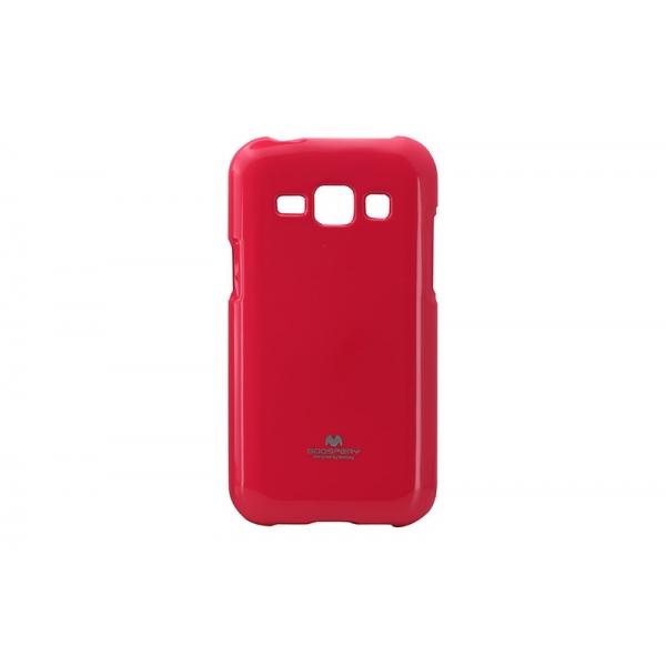 Husa My-Jelly Samsung Galaxy J1 J100 Roz